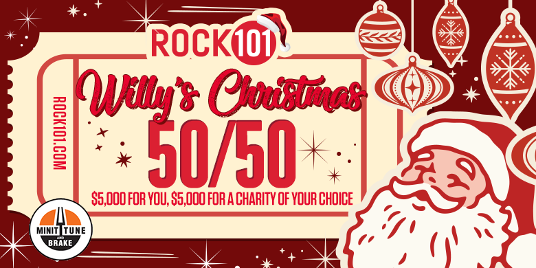 Willy's Christmas 50/50 Contest