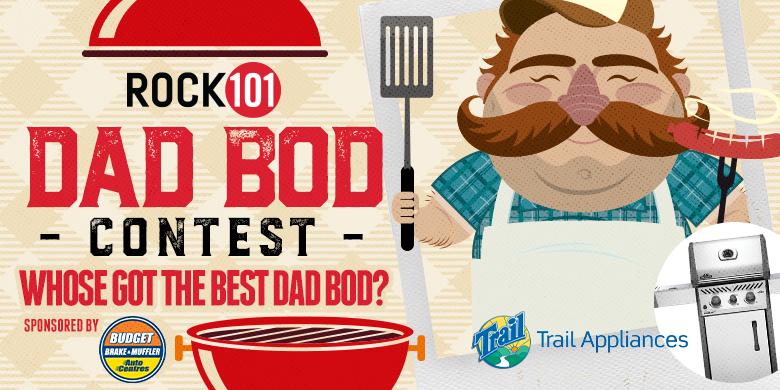 Rock 101's Ultimate Dad Bod Showdown