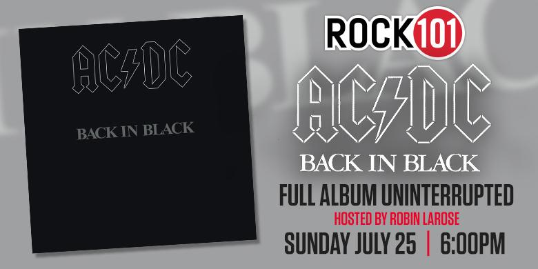 AC/DC's Back in Black