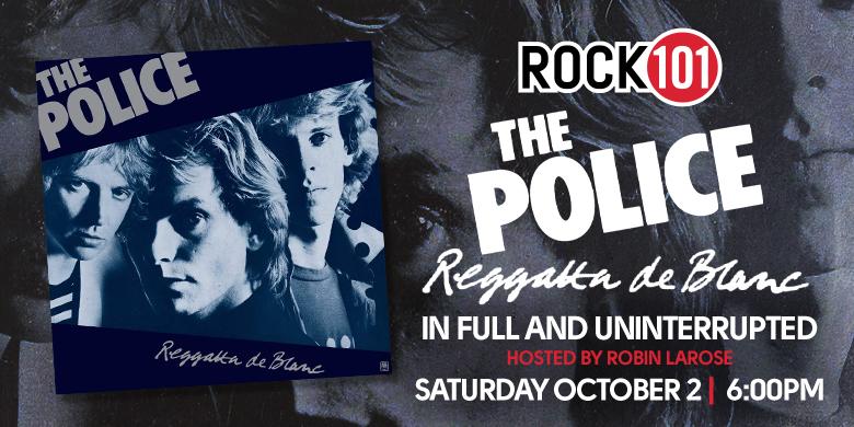 """The Police – """"Reggatta De Blanc"""" Album"""
