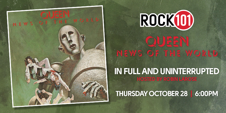 """Queen – """"News Of The World"""""""